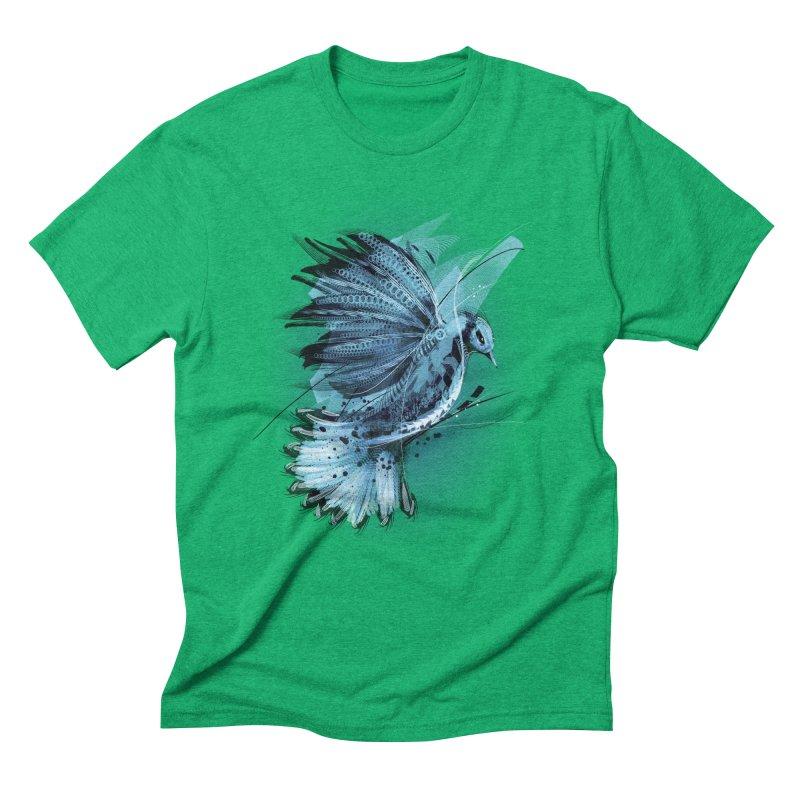 BlueJay Men's Triblend T-Shirt by alnavasord's Artist Shop