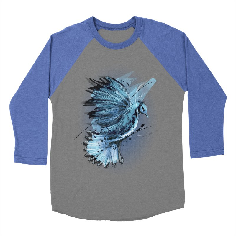 BlueJay Women's Baseball Triblend T-Shirt by alnavasord's Artist Shop