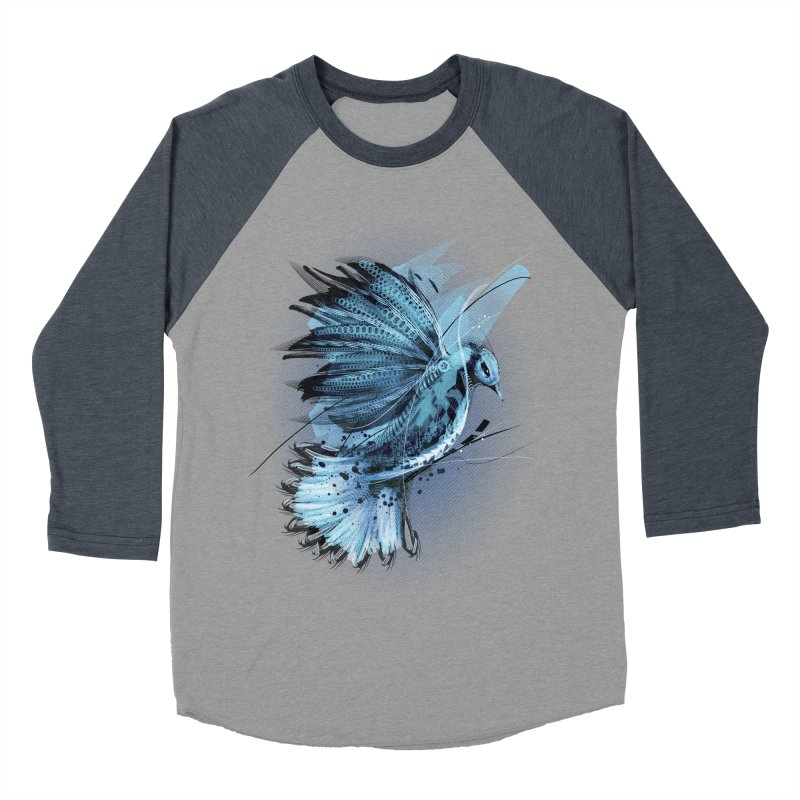 BlueJay Men's Baseball Triblend T-Shirt by alnavasord's Artist Shop