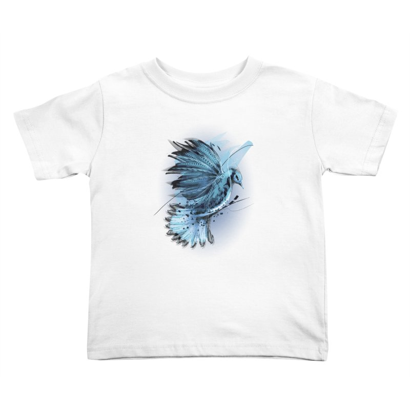 BlueJay Kids Toddler T-Shirt by alnavasord's Artist Shop