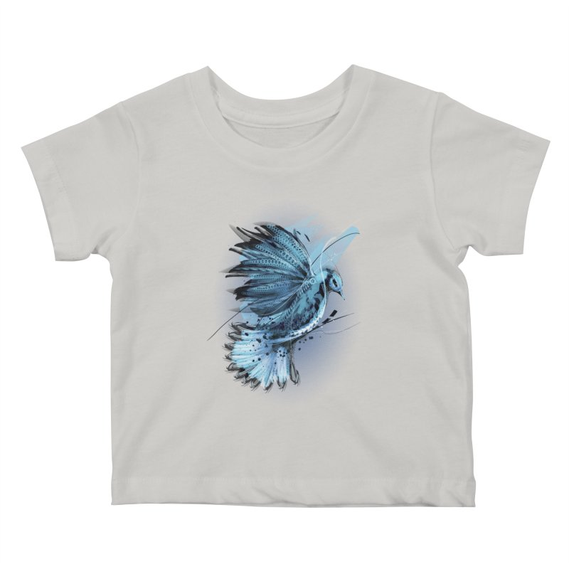 BlueJay Kids Baby T-Shirt by alnavasord's Artist Shop