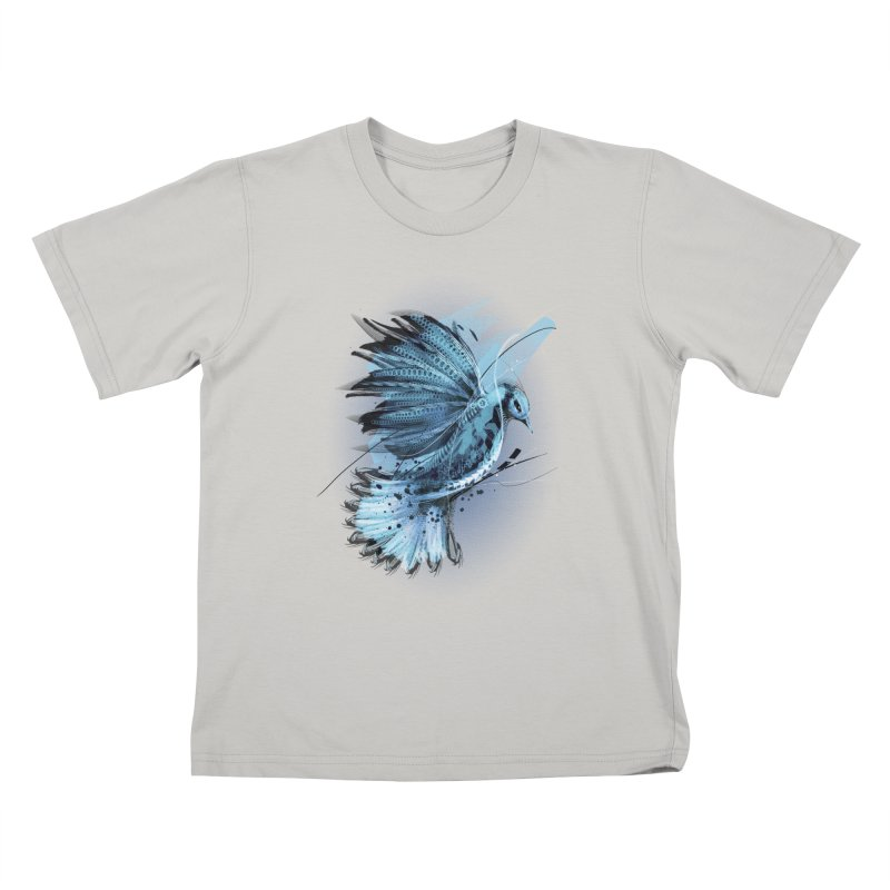 BlueJay Kids T-Shirt by alnavasord's Artist Shop