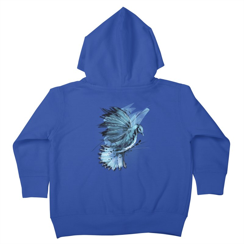 BlueJay Kids Toddler Zip-Up Hoody by alnavasord's Artist Shop