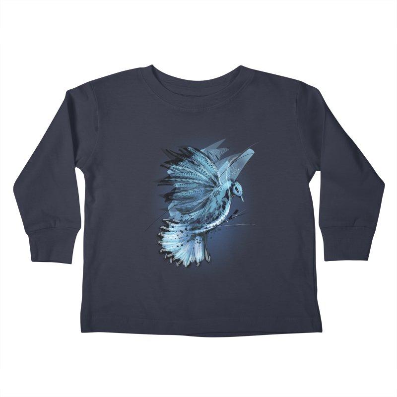 BlueJay Kids Toddler Longsleeve T-Shirt by alnavasord's Artist Shop