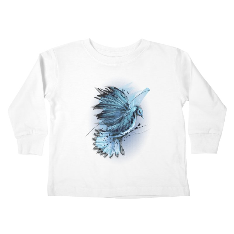 BlueJay Kids Toddler Longsleeve T-Shirt by alnavasord's Artist Shop