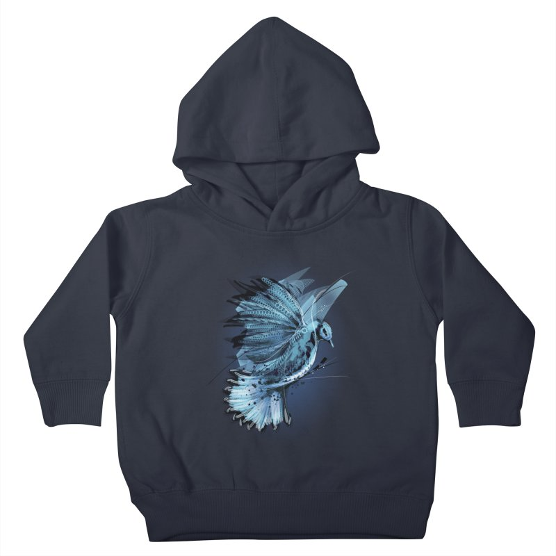 BlueJay Kids Toddler Pullover Hoody by alnavasord's Artist Shop