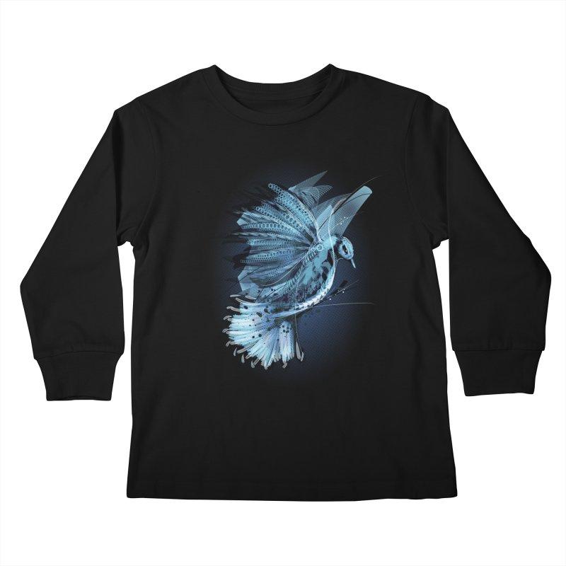 BlueJay Kids Longsleeve T-Shirt by alnavasord's Artist Shop