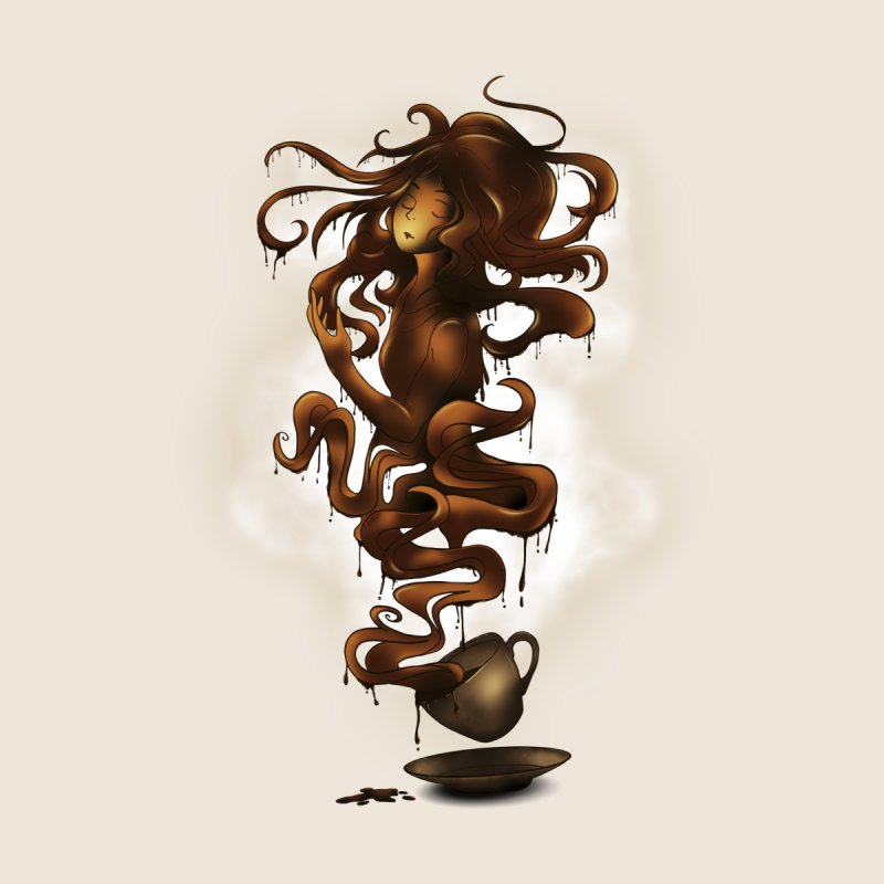 a cup of coffee by alnavasord's Artist Shop