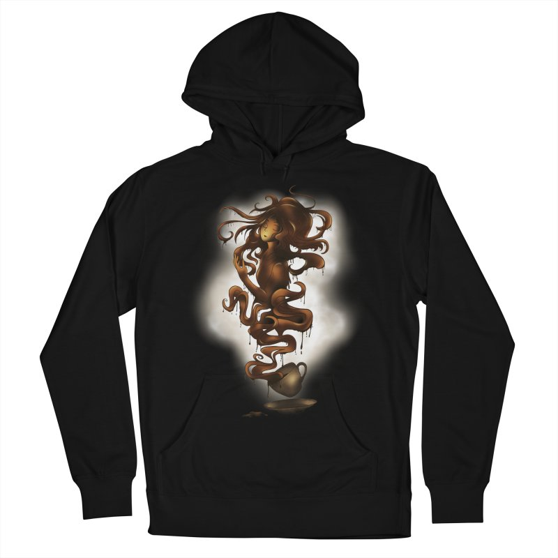 a cup of coffee Women's Pullover Hoody by alnavasord's Artist Shop