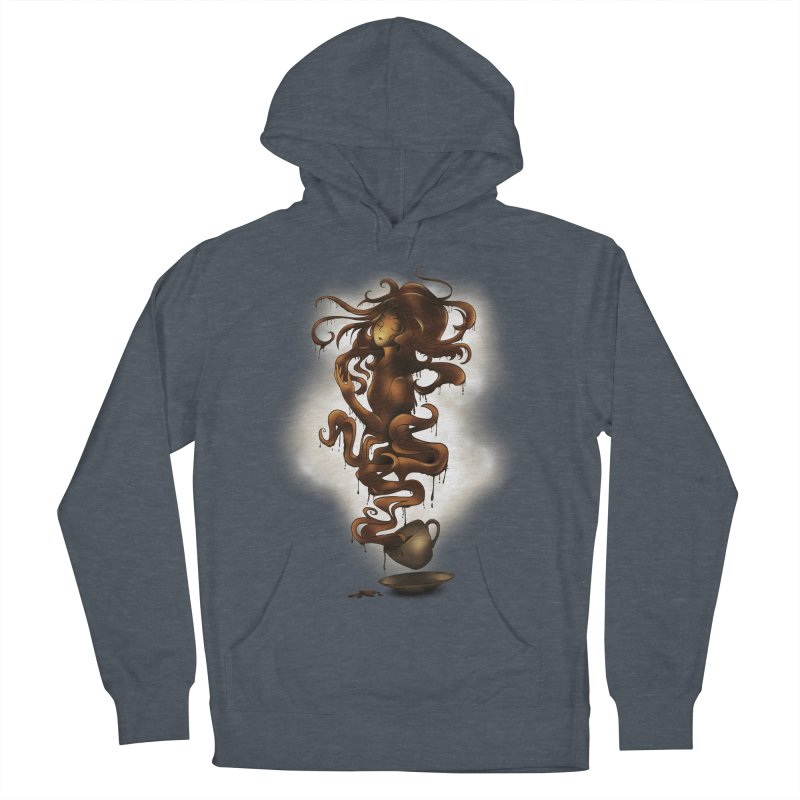 a cup of coffee Men's Pullover Hoody by alnavasord's Artist Shop