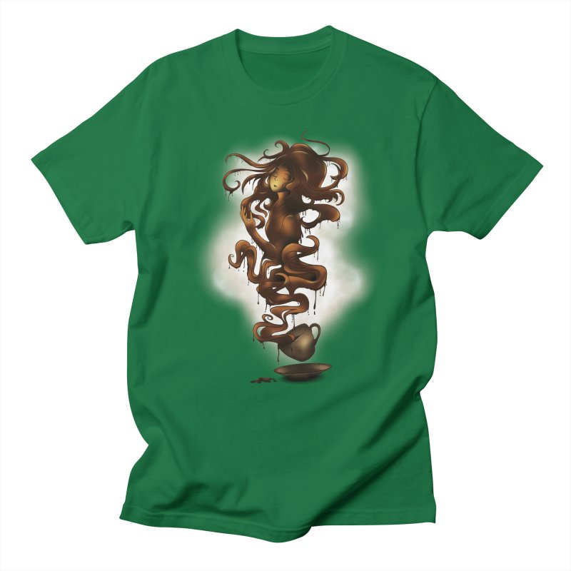 a cup of coffee Men's T-shirt by alnavasord's Artist Shop