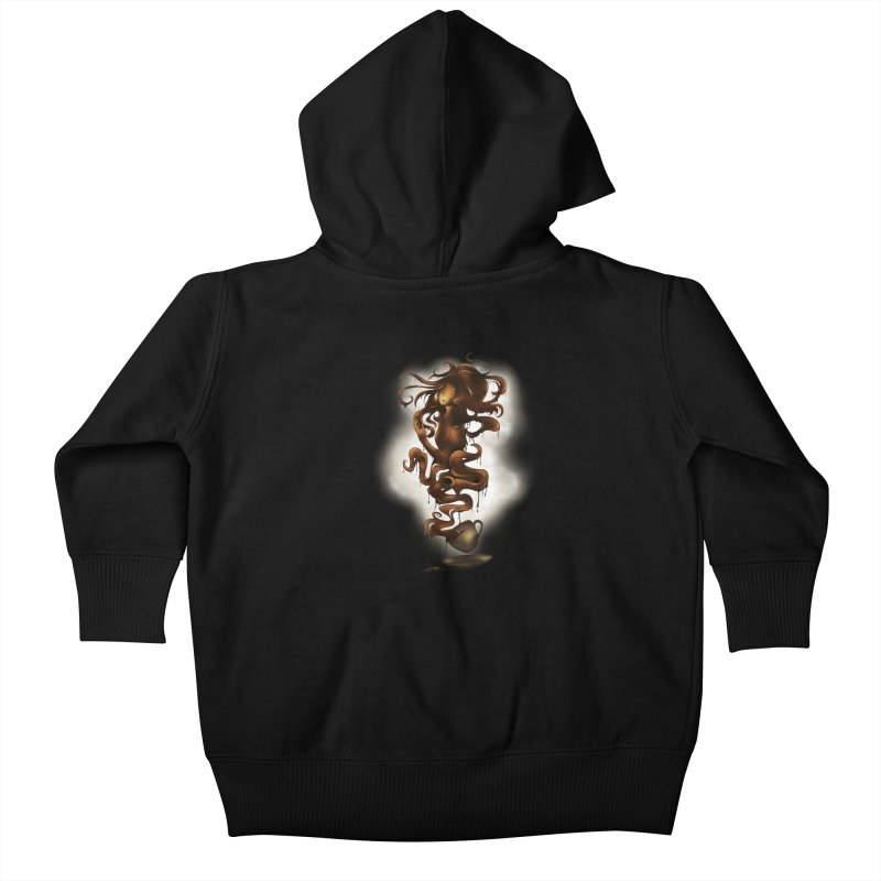 a cup of coffee Kids Baby Zip-Up Hoody by alnavasord's Artist Shop