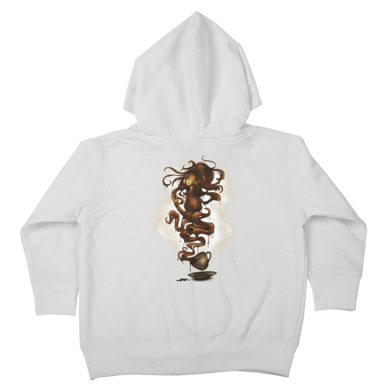 a cup of coffee Kids Toddler Zip-Up Hoody by alnavasord's Artist Shop
