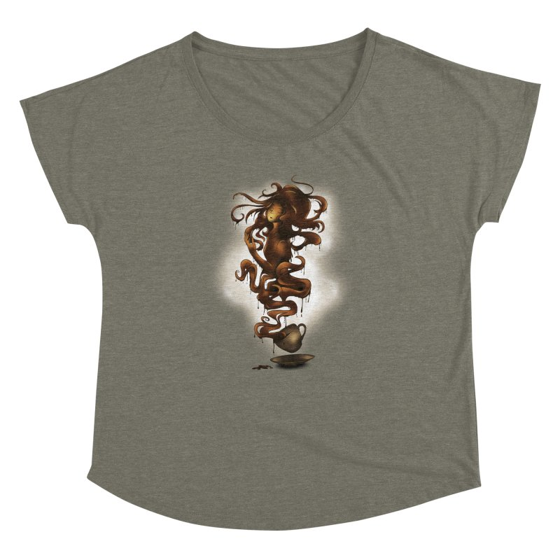 a cup of coffee Women's Dolman by alnavasord's Artist Shop