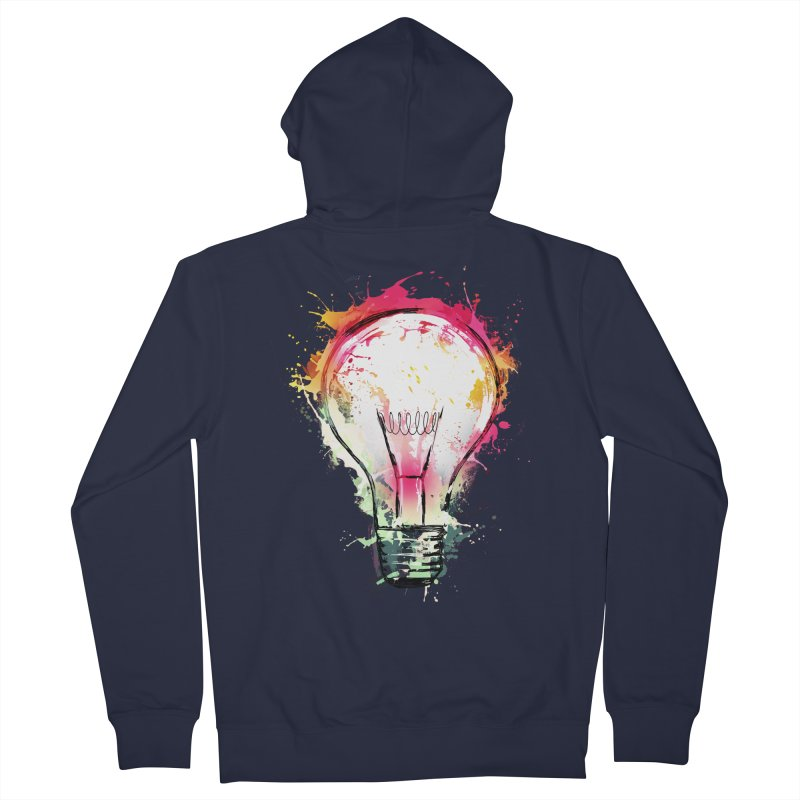 Splash Ideas Women's Zip-Up Hoody by alnavasord's Artist Shop