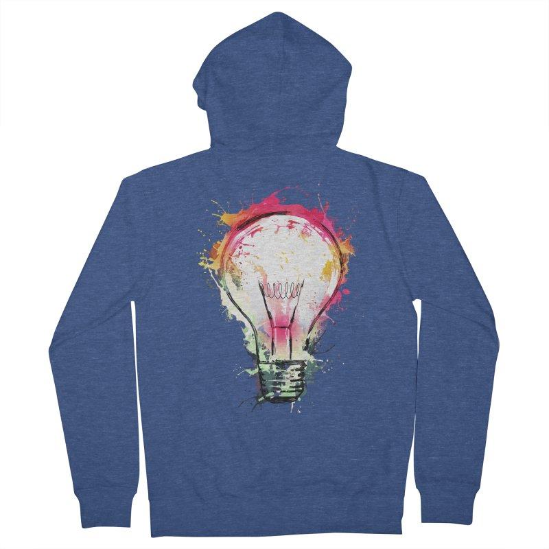 Splash Ideas Men's Zip-Up Hoody by alnavasord's Artist Shop