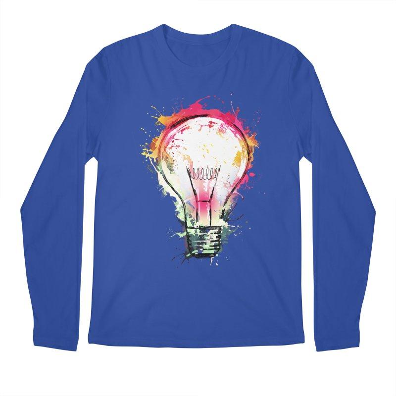 Splash Ideas Men's Longsleeve T-Shirt by alnavasord's Artist Shop