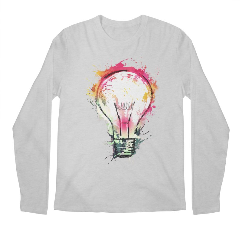 Splash Ideas Men's Longsleeve T-Shirt by alnavasord's Artist Shop