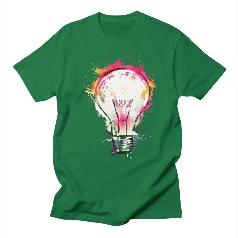 Splash Ideas Men's T-shirt by alnavasord's Artist Shop