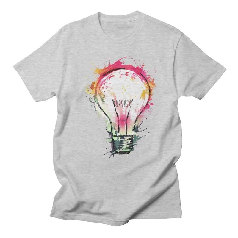Splash Ideas Men's T-Shirt by alnavasord's Artist Shop