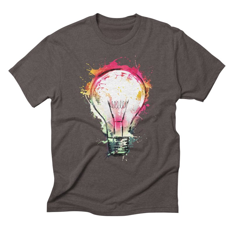 Splash Ideas Men's Triblend T-shirt by alnavasord's Artist Shop