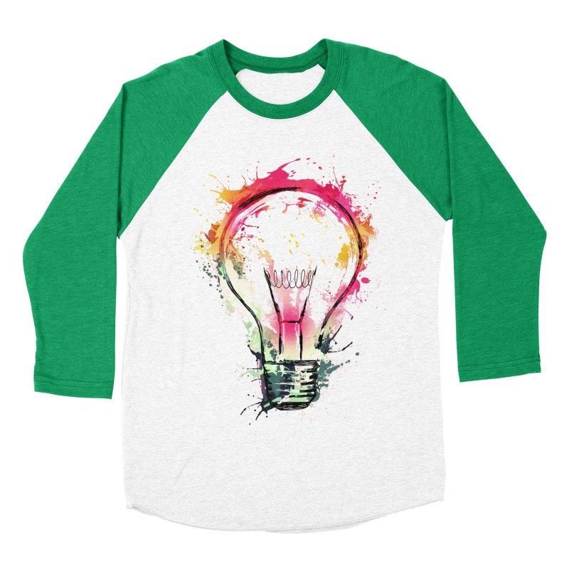 Splash Ideas Men's Baseball Triblend T-Shirt by alnavasord's Artist Shop