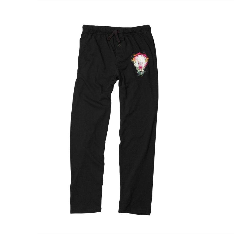 Splash Ideas Men's Lounge Pants by alnavasord's Artist Shop