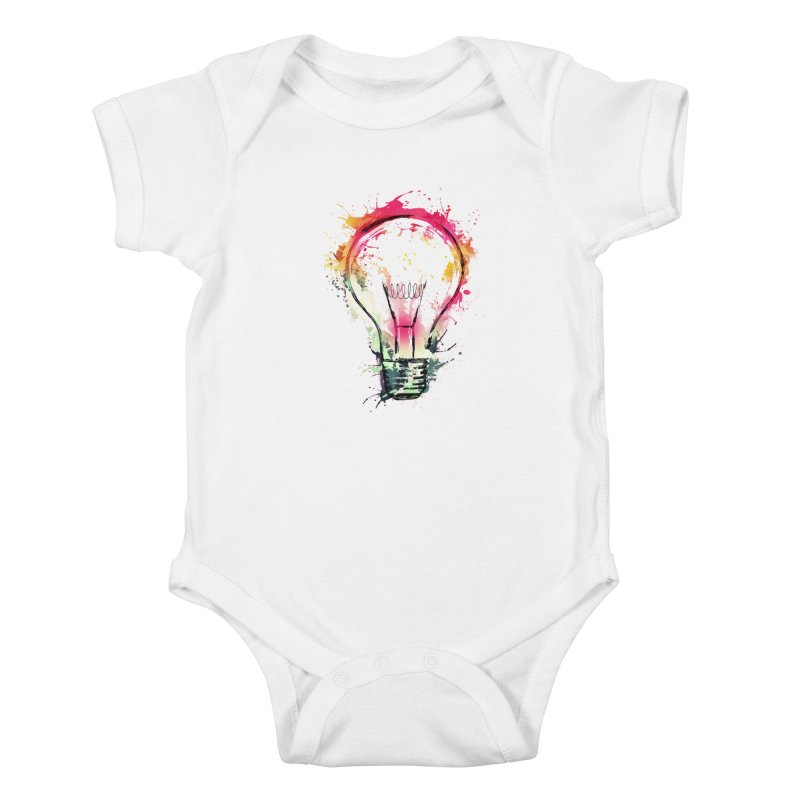 Splash Ideas Kids Baby Bodysuit by alnavasord's Artist Shop