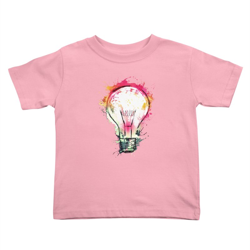Splash Ideas Kids Toddler T-Shirt by alnavasord's Artist Shop