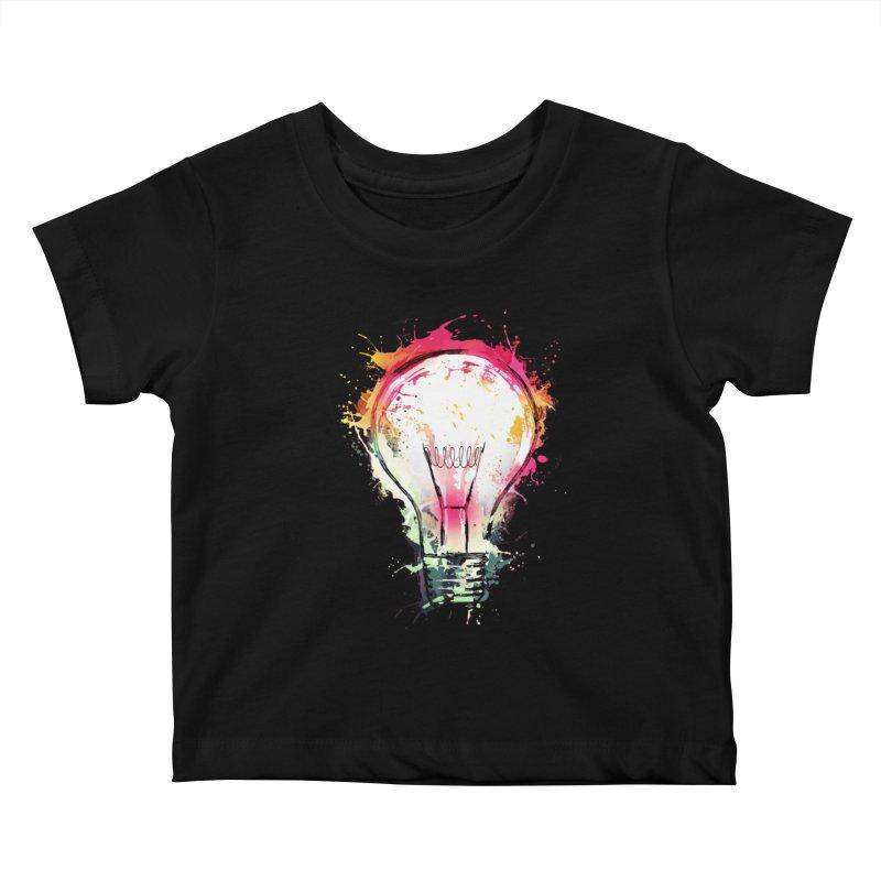 Splash Ideas Kids Baby T-Shirt by alnavasord's Artist Shop
