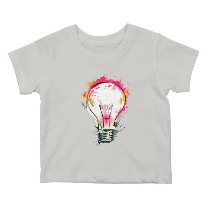 Splash Ideas Kids Baby T-Shirt by alnavasord's Artist Shop