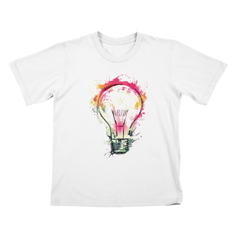 Splash Ideas Kids T-shirt by alnavasord's Artist Shop