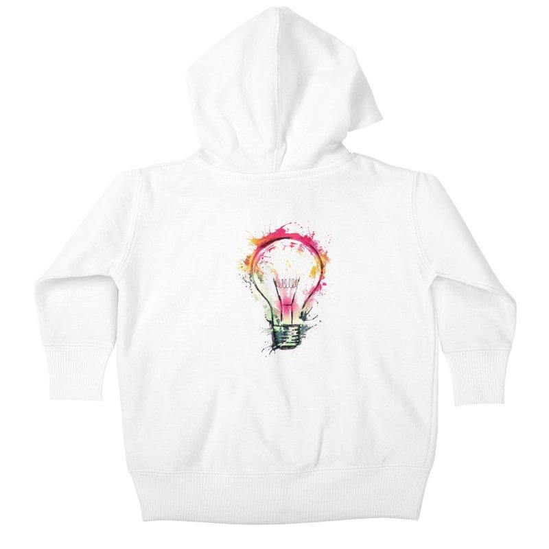 Splash Ideas Kids Baby Zip-Up Hoody by alnavasord's Artist Shop