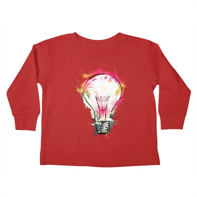 Splash Ideas Kids Toddler Longsleeve T-Shirt by alnavasord's Artist Shop