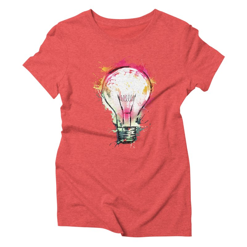 Splash Ideas Women's Triblend T-shirt by alnavasord's Artist Shop