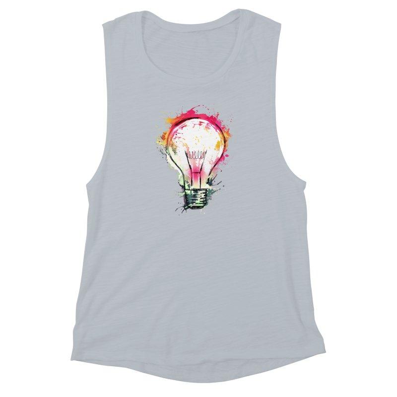 Splash Ideas Women's Muscle Tank by alnavasord's Artist Shop