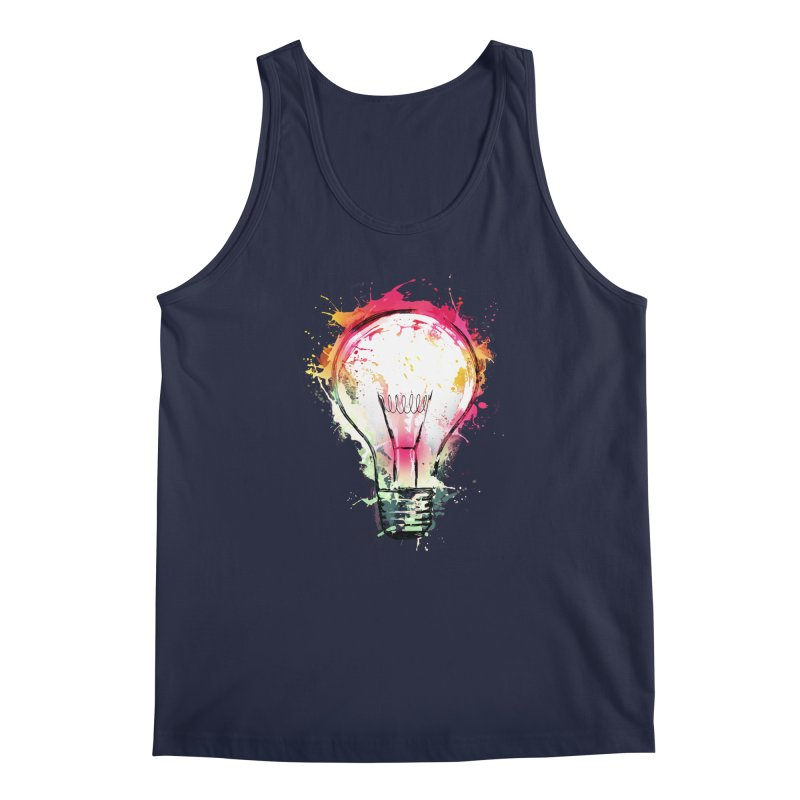 Splash Ideas Men's Tank by alnavasord's Artist Shop