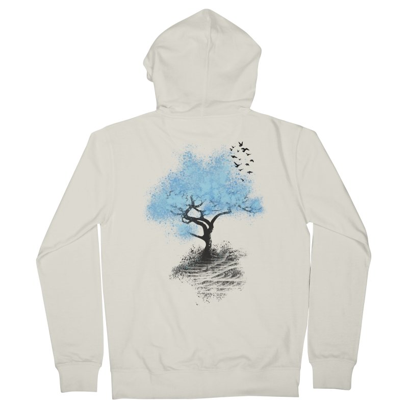 leaving home Women's Zip-Up Hoody by alnavasord's Artist Shop
