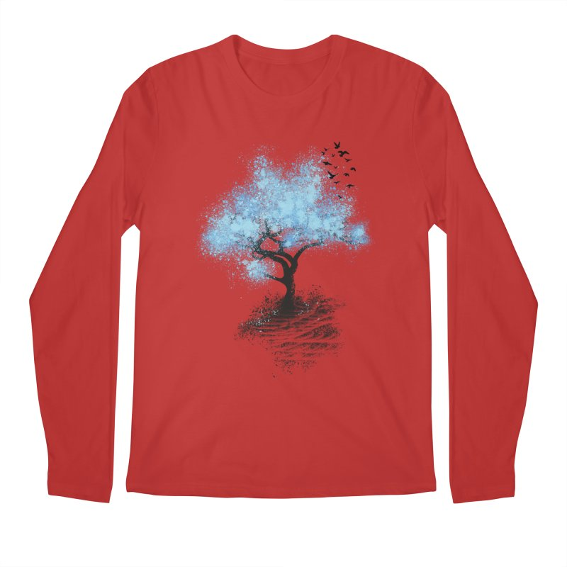 leaving home Men's Longsleeve T-Shirt by alnavasord's Artist Shop