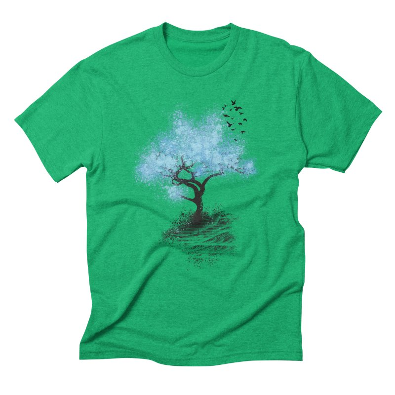 leaving home Men's Triblend T-Shirt by alnavasord's Artist Shop