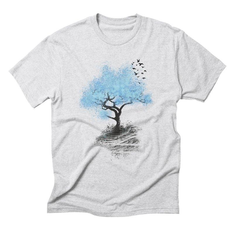 leaving home Men's Triblend T-shirt by alnavasord's Artist Shop