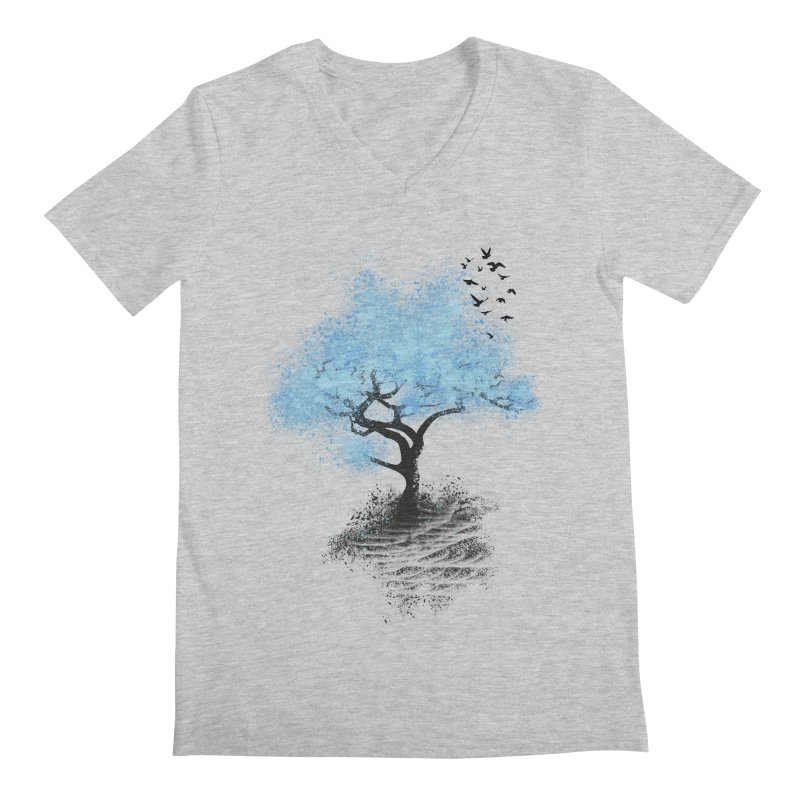 leaving home Men's V-Neck by alnavasord's Artist Shop