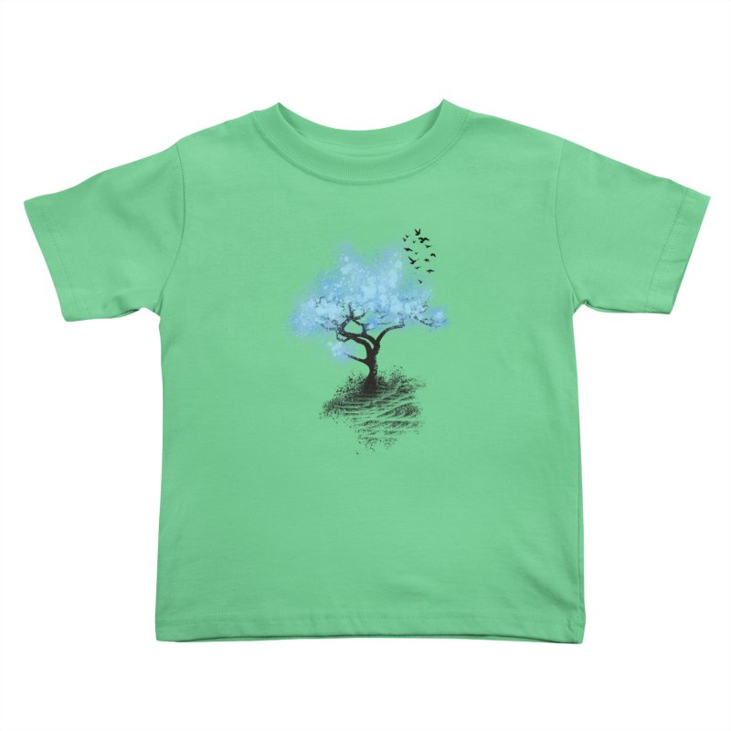leaving home Kids Toddler T-Shirt by alnavasord's Artist Shop