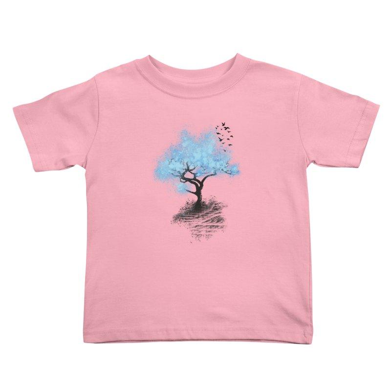 leaving home Kids Toddler T-Shirt by alnavasord's Artist Shop