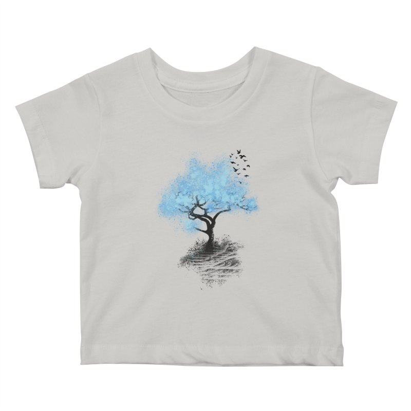leaving home Kids Baby T-Shirt by alnavasord's Artist Shop