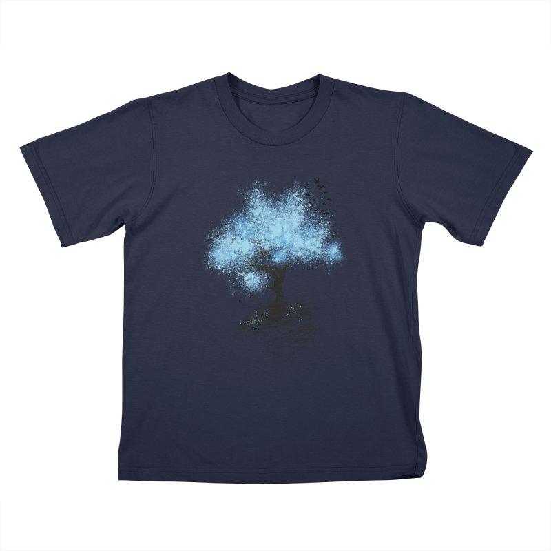 leaving home Kids T-Shirt by alnavasord's Artist Shop