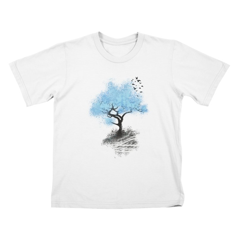 leaving home Kids T-shirt by alnavasord's Artist Shop