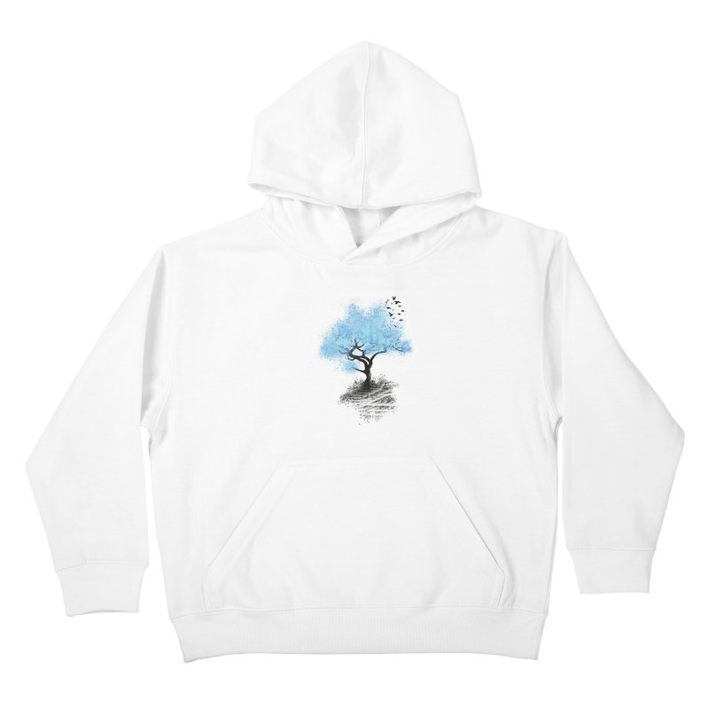 leaving home Kids Pullover Hoody by alnavasord's Artist Shop