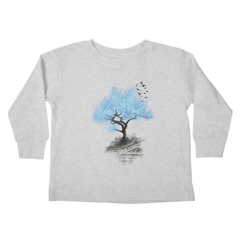 leaving home Kids Toddler Longsleeve T-Shirt by alnavasord's Artist Shop