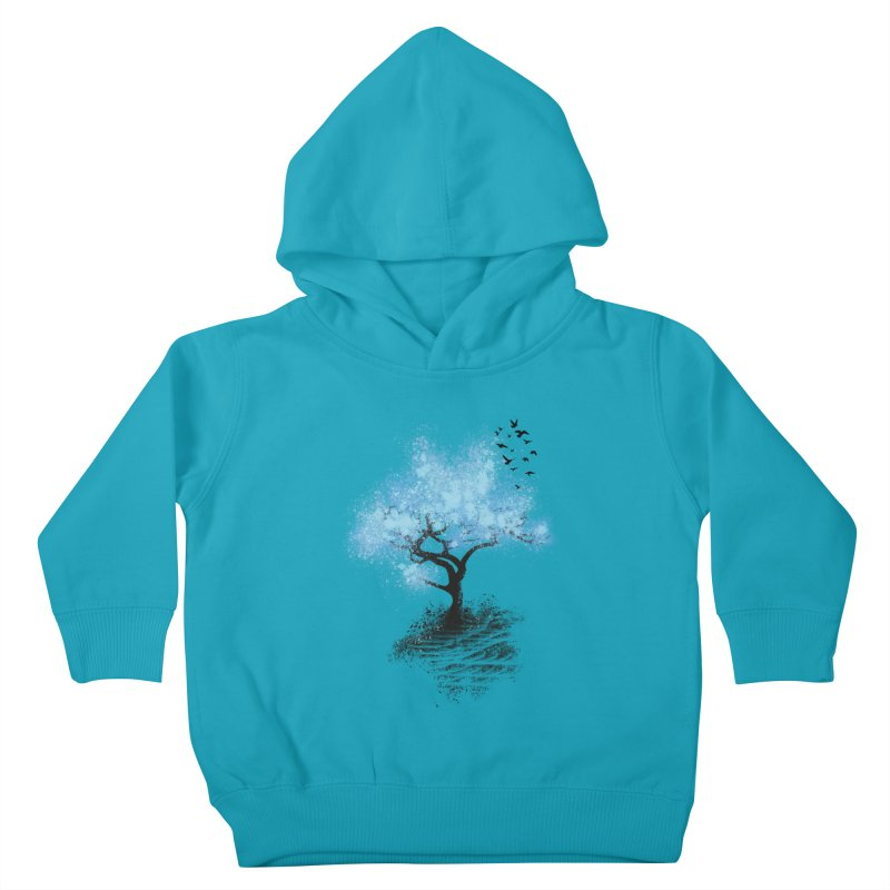 leaving home Kids Toddler Pullover Hoody by alnavasord's Artist Shop